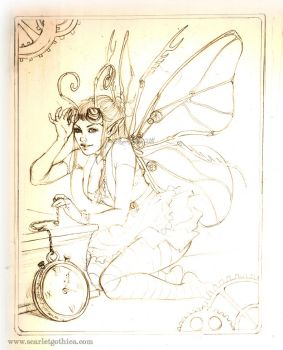 A Clockwork Faerie by Claudia-SG