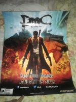 Autographed DMC Poster (For Sale) by DestinyDecade