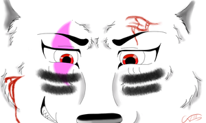 put on ur war paint! by ask-okami-2p-prussia