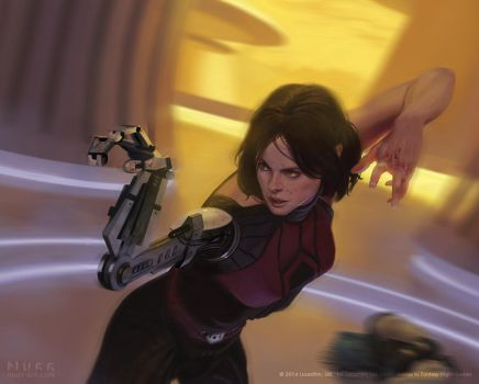 Star Wars: The Card Game - Arden Lyn by JakeMurray