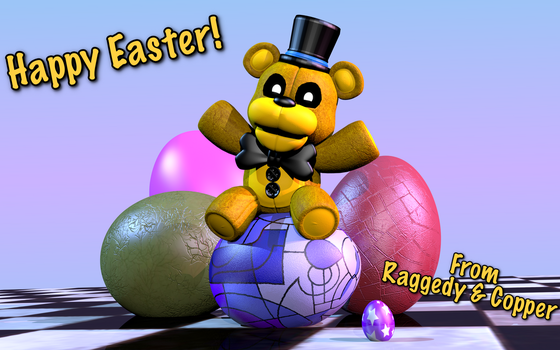 Easter Burr (Happy Easter 2017!) by RaggedyStar