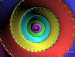 Colorful Spiral by BigThunder1