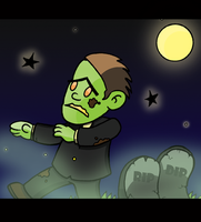 GEORGE the ZOMBIE (MUNCHSTERS) by Dylanio21