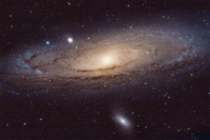 M31 Andromeda Galaxy by cytrinox