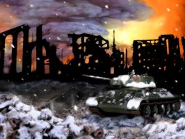 Snow in Stalingrad by baRoN37