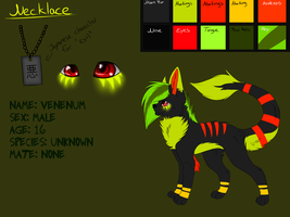 Venenum Reference Sheet by Sorasongz