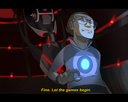 Portal 2 Animation Screencap by incongruousinquiry