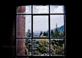 Decaying residence on the hills XVII by SilvieTepes