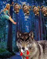 BARBIE SCOUTS WOLVES by TrickyIngredients