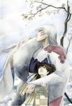 Sesshomaru and Rin by airasan