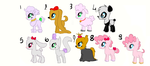 MLP Draw to adopt Themed adoptables - Pets - OPEN by Azure-Art-Wave