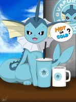 Hot or Cold? ( Vaporeon ) by Winick-Lim
