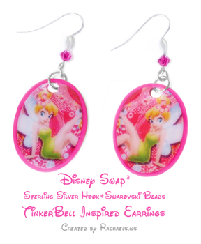 Tinkerbell Earrings by Rachaels