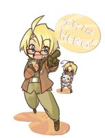 APH- Alfred and Mattieu by T3hb33
