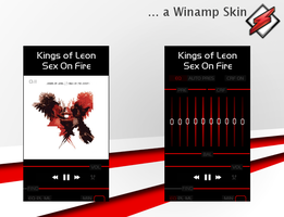 Red Line - Winamp Skin by XprSS