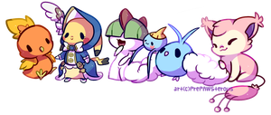 :My Pokemon Team: by PrePAWSterous