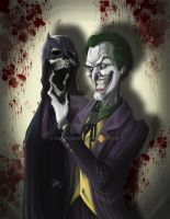 Fan Art: The Joker by headthorn