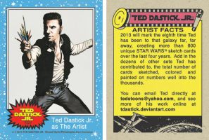 Wizard World Philly 2013 - Star Wars promo card by tdastick