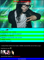Skrillex Journal Skin by DragonA7X
