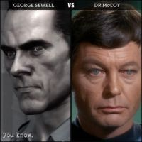 Silent-Trek Sewell VS Dr McCoy by Samantha-Bartlett
