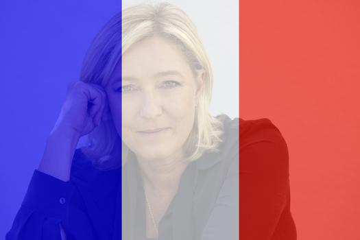 Pray for Le Pen by SeppGalerieOffiziell