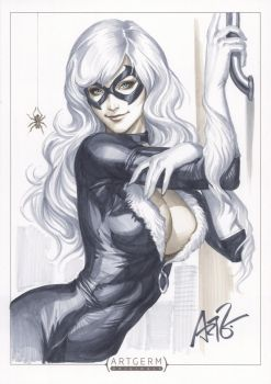 Black Cat Original 1 by Artgerm