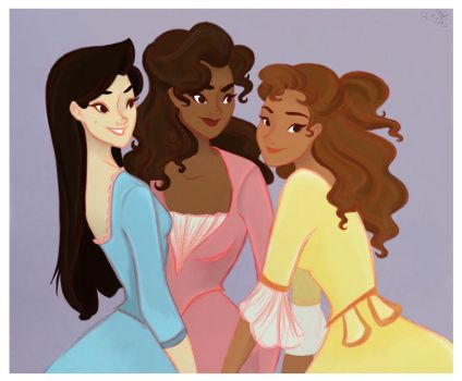 The Schyler Sisters by kathleenanne18