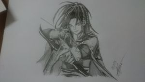 My RPG Neji with bow and arrow by Blood-Teddy