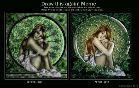Ivy Dream: Before And After by Isriana