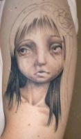 Tattoo (first stage) by Snitz07