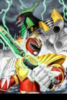 red dragon ranger 3 by PRprince