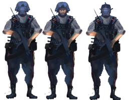 Policing Force Concept by Allan-P