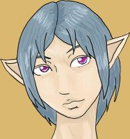 Male Elf by Ampzone