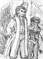 Janos Audron and Raziel by ViperXtreme