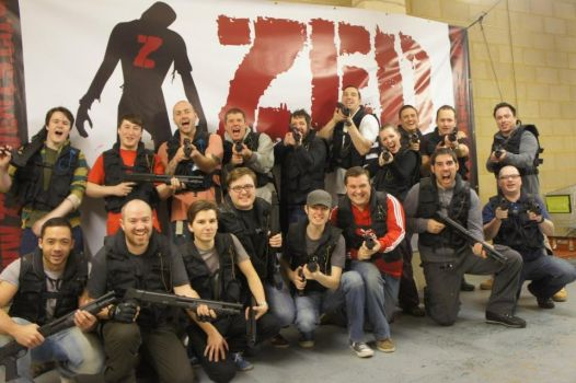 Zed Events-Zombie Mall 1st December Group Shot #2 by Wasjig