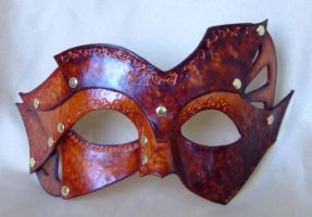 Steampunk inspired mask by xothique