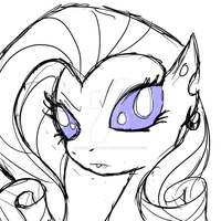 The Rarity Experiment 2 by MermaidSoupButtons