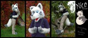 Nico fursuit by Rasaliina