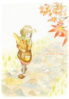 Autumn foliage by Nonohara-Susu