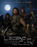 Skyrim - Legend of Cain machinima poster by NenadJones