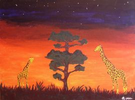 I Dreamed Of Africa II by harajukumatt