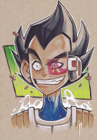 Wizard World Austin Preview:  HRH Prince Vegeta! by GhostHause