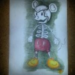Mickey Mouse Bones by jeroome