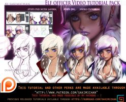 Elf Officer video tutorial pack .promo. by sakimichan