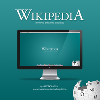 Wallpaper Wikipedia by redsoul90