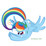 Rainbow Dash by KaiThePhaux