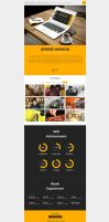 Profession - One Page CV Responsive Theme by DarkStaLkeRR