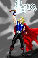 Young Thor by Gotham-Knight