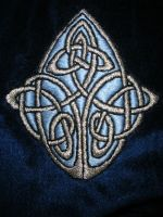 Celtic Knotwork Embroidery by LethannAeda