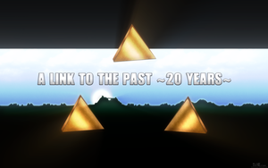 A Link to the Past ~20 Years~ Wallpaper by BLUEamnesiac